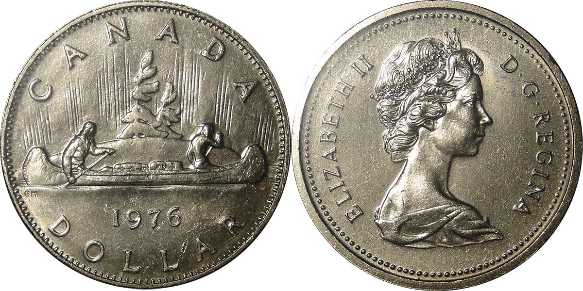 1 dollar 1976