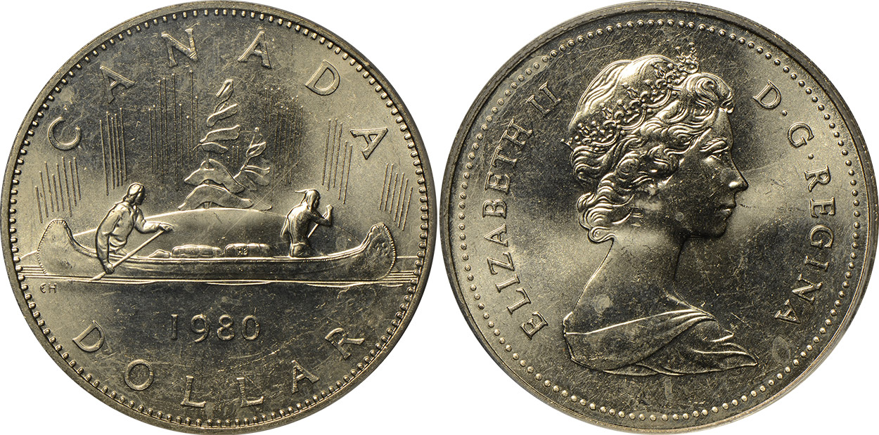1 dollar 1980