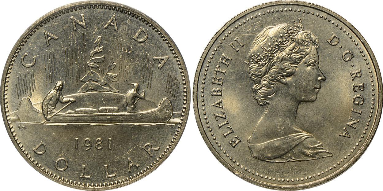 1 dollar 1981