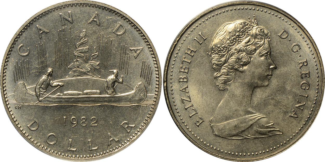 1 dollar 1982