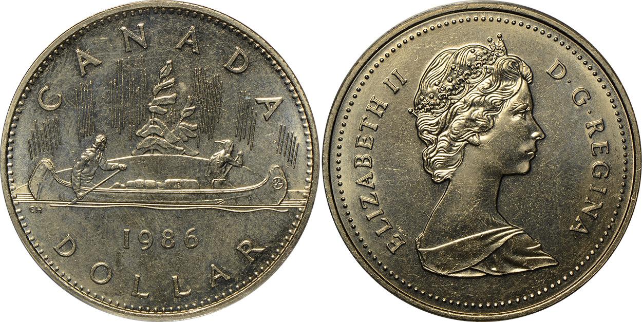 1 dollar 1986