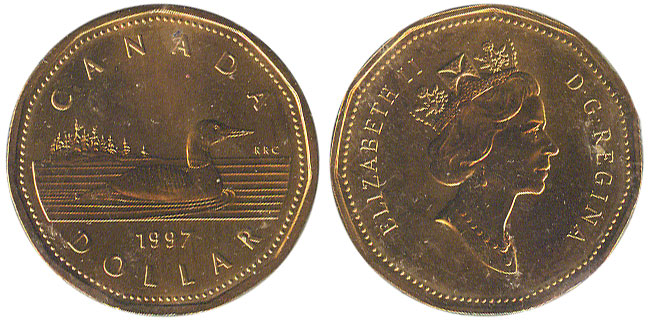 1 dollar 1997