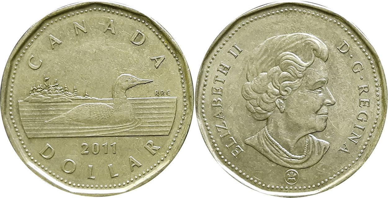 1 dollar 2011