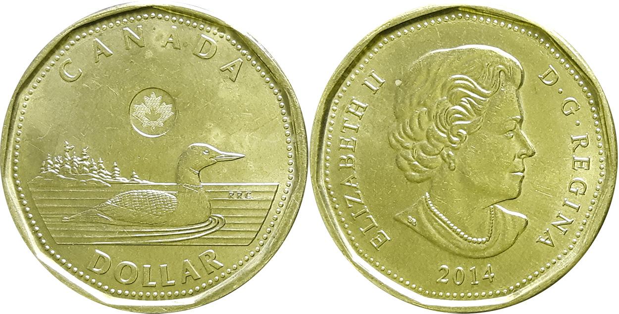 2000W CANADA LOONIE PROOF-LIKE ONE DOLLAR COIN