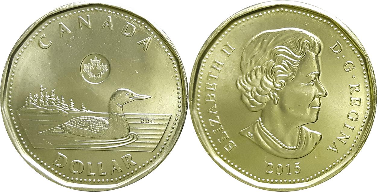 1 dollar 2015