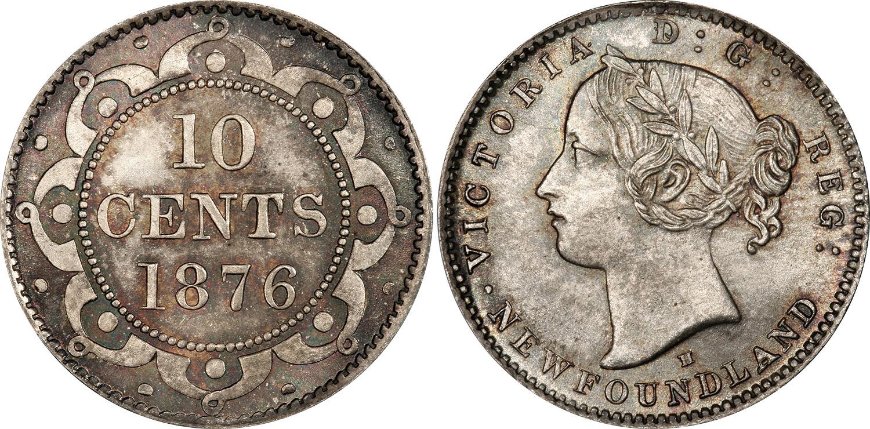 10 cents 1876 - Newfoundland