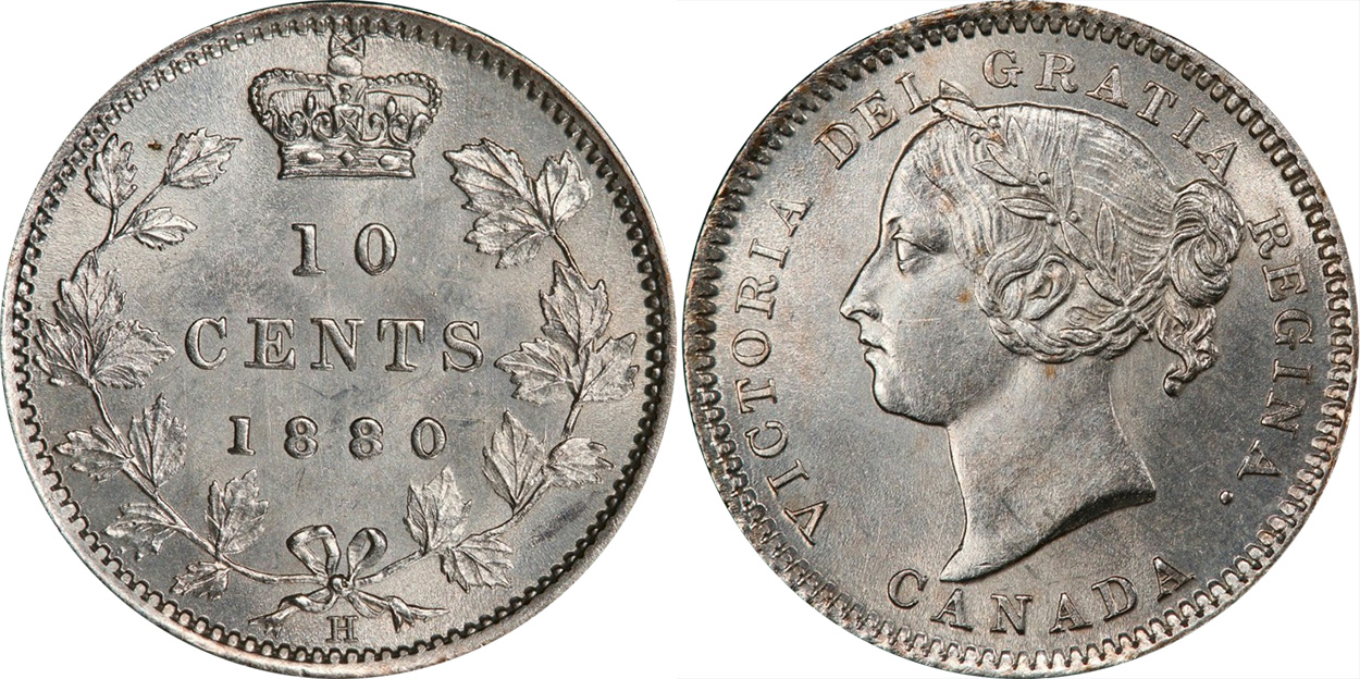 10cents 1880