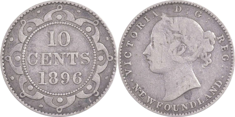 10 cents 1896 - Newfoundland