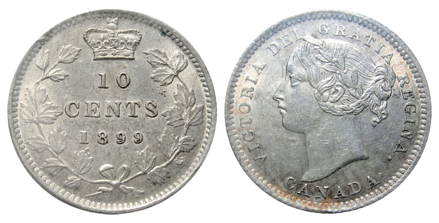 10 cents 1899