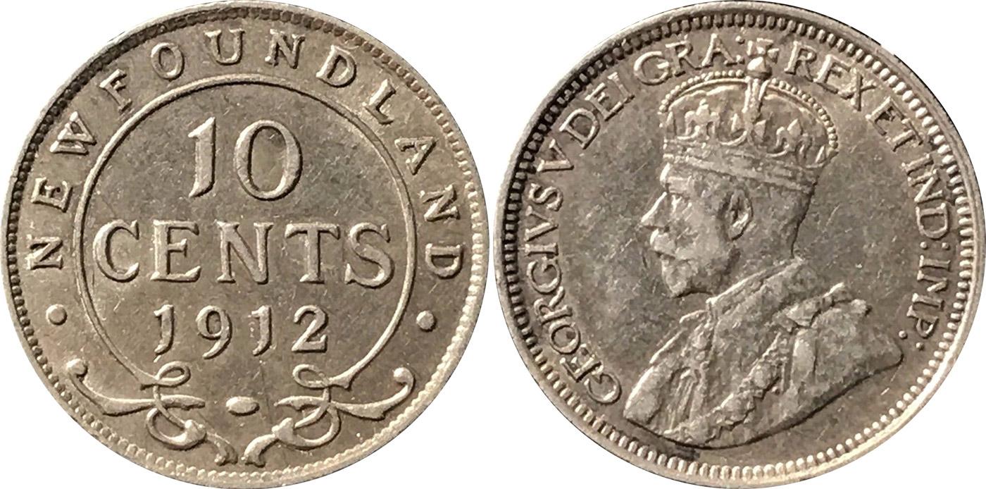 10 cents 1912 - Newfoundland