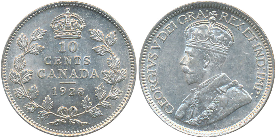10 cents 1928