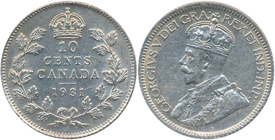 10 cents 1931