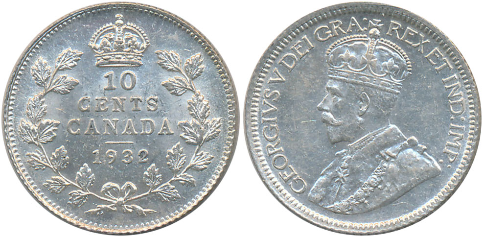 10 cents 1932
