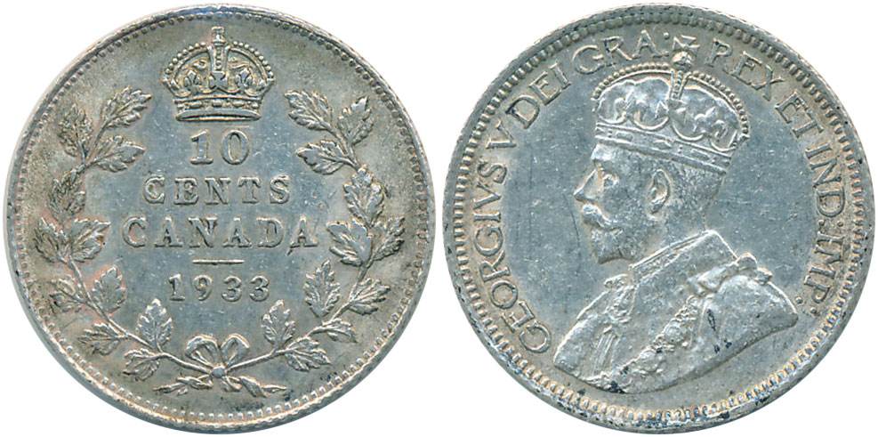 10 cents 1933