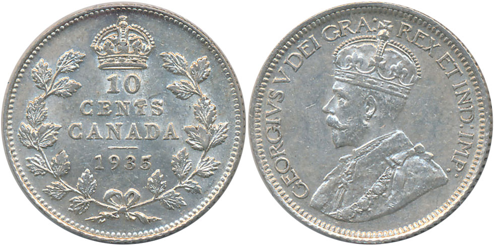 10 cents 1935