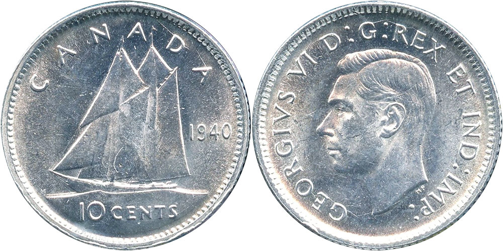 10 cents 1940