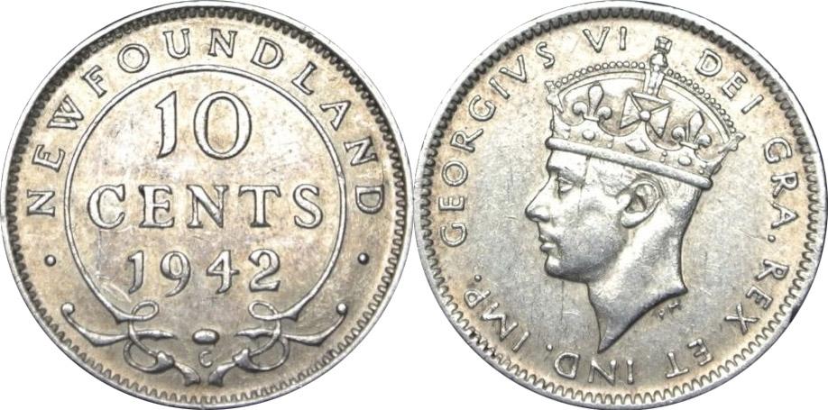10 cents 1946 - Newfoundland