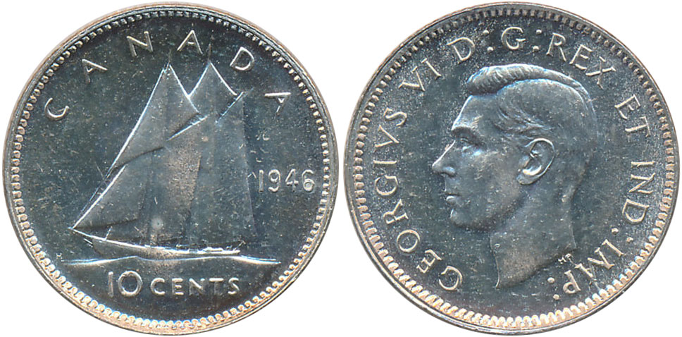 10 cents 1946