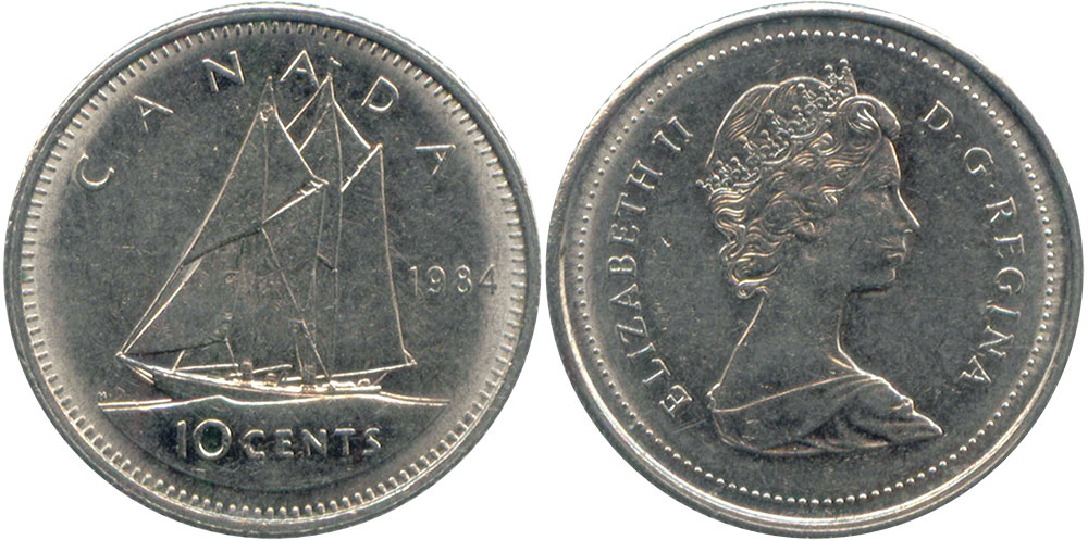 10 cents 1984