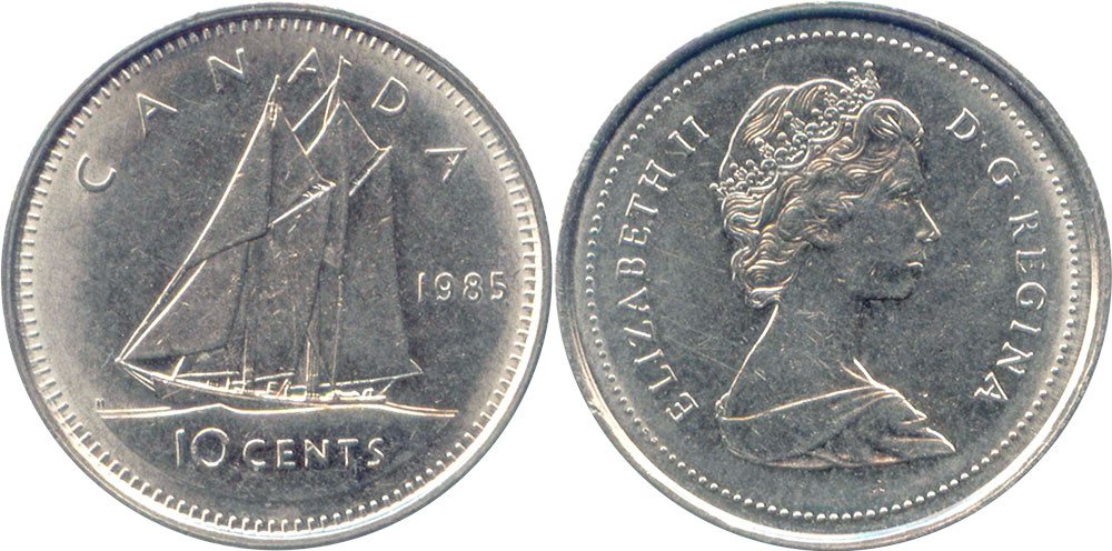 10 cents 1987