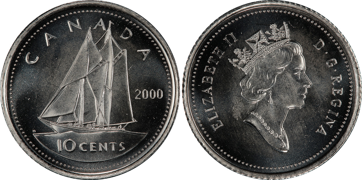 Coins And Canada 10 Cents 2001 Canadian Coins Price Guide And Values