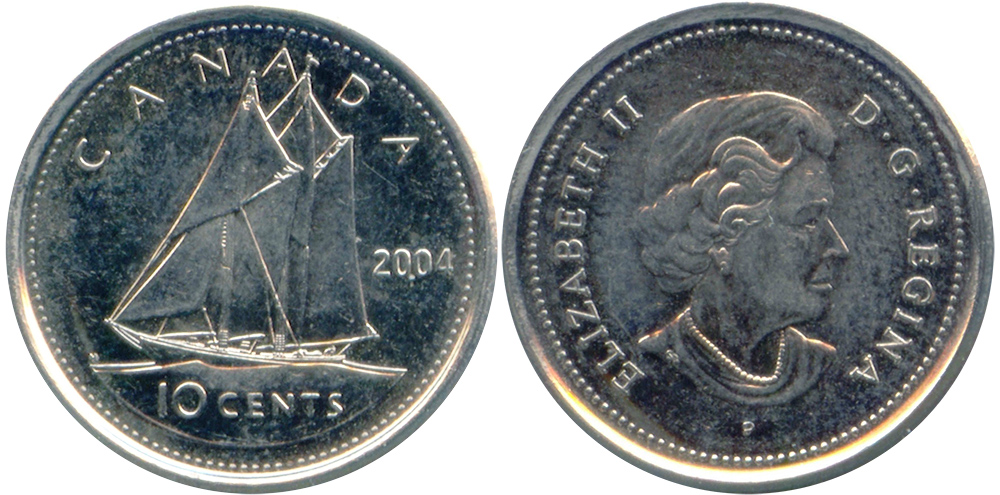 10 cents 2004