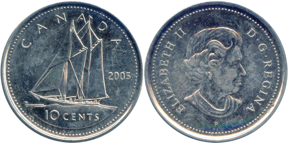 10 cents 2005