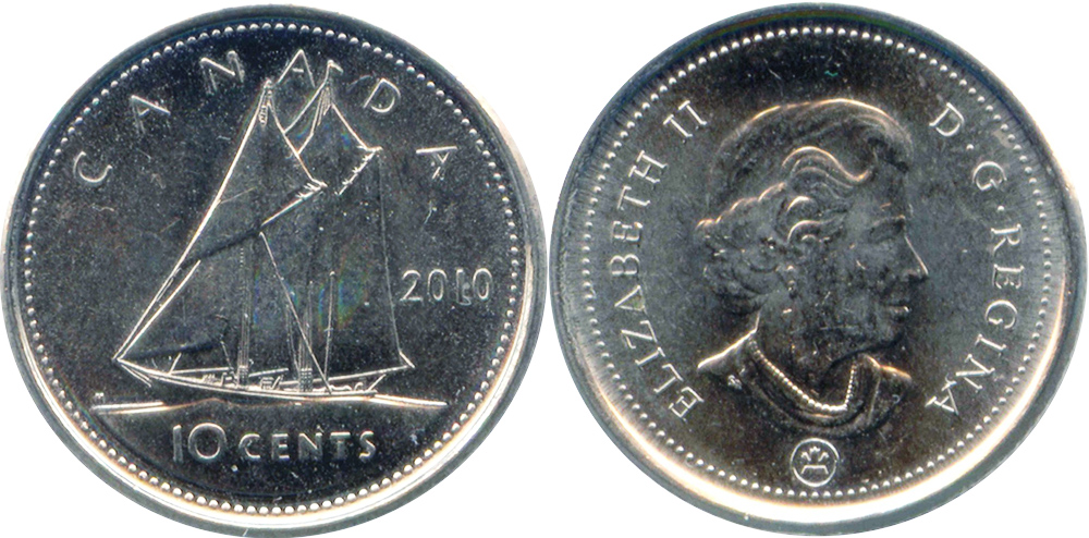 10 cents 2012