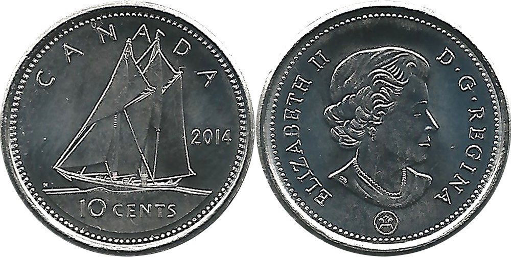 10 cents 2014