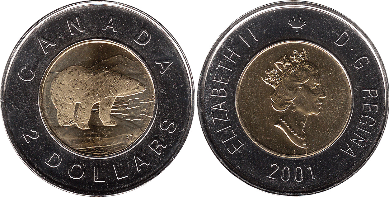 2 dollars 2001