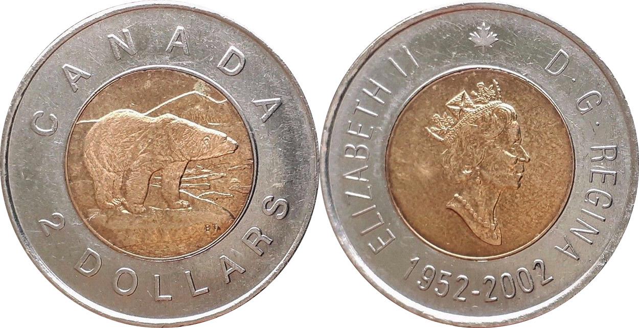 2 dollars 2002
