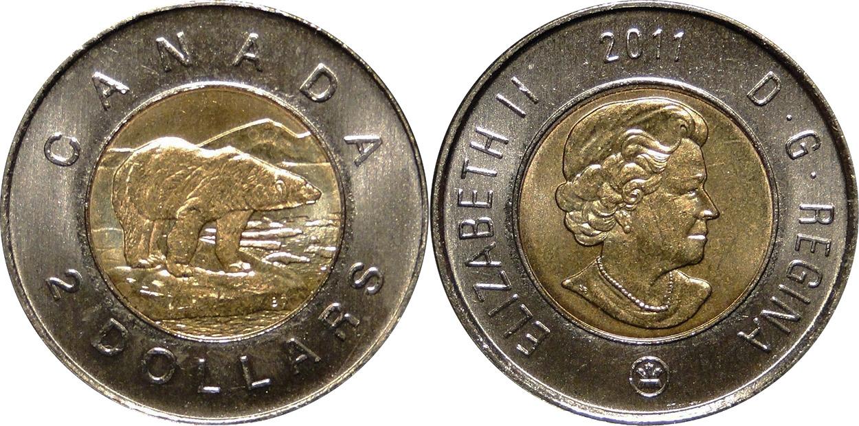 2 dollars 2011