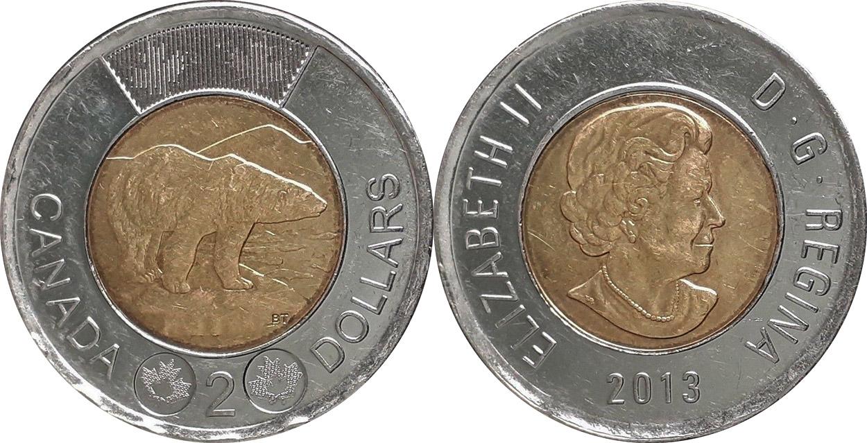 2 dollars 2013