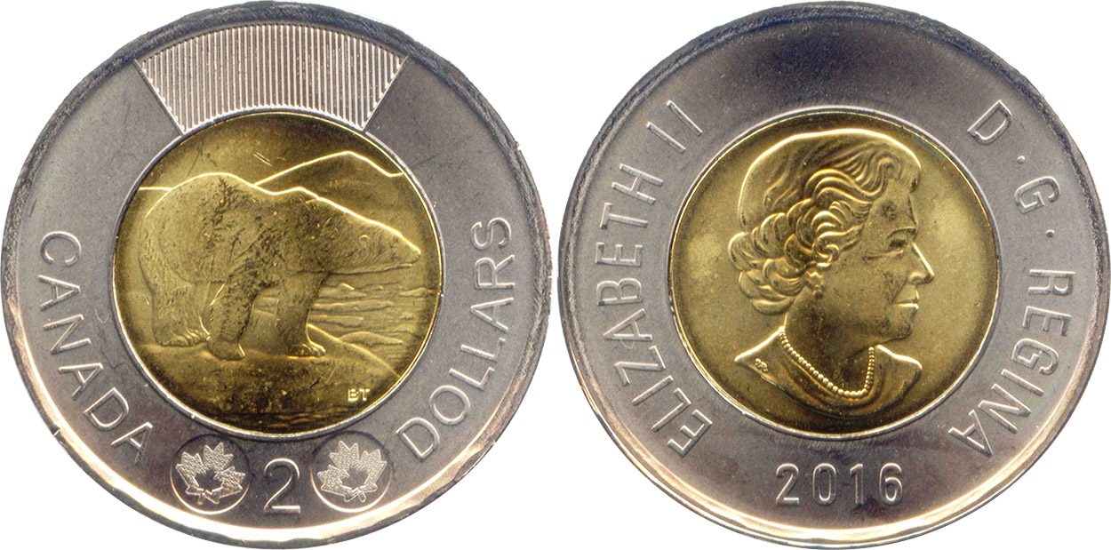 2 dollars 2016
