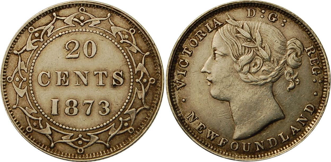 20 cents 1873 - Newfoundland