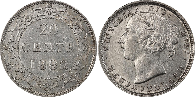 20 cents 1882 - Newfoundland