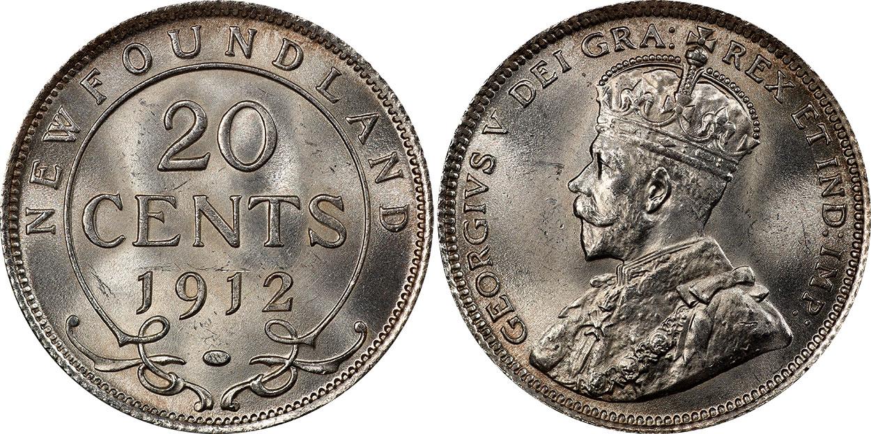 20 cents 1912 - Newfoundland