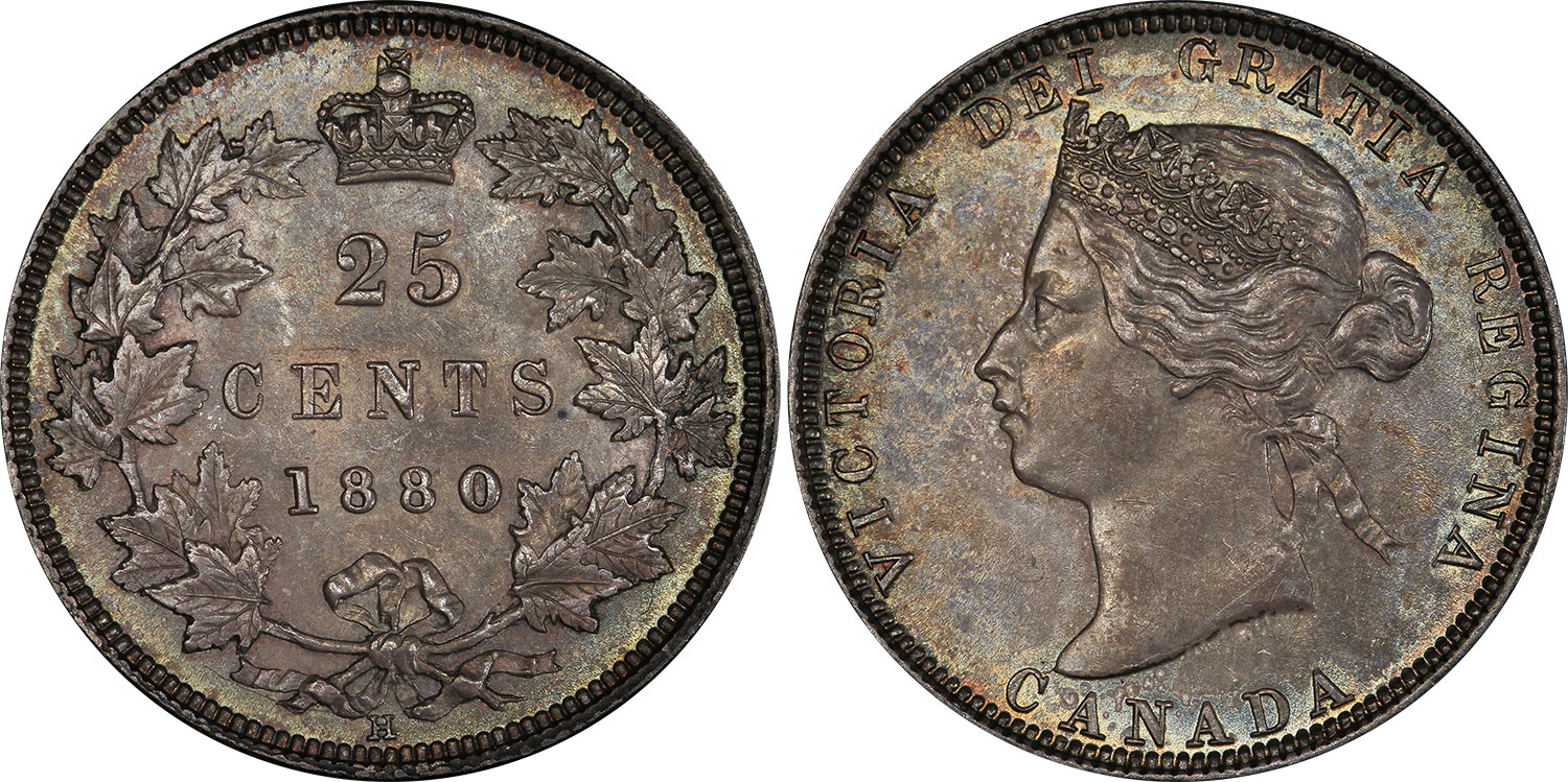 25 cents 1880