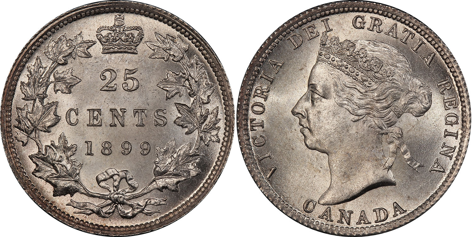 25 cents 1899
