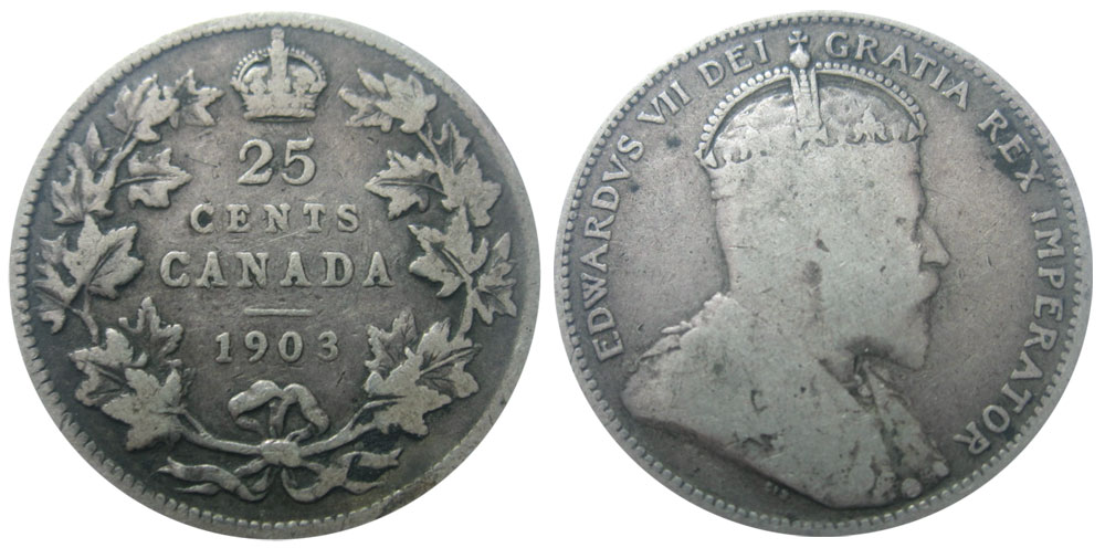 25 cents 1904