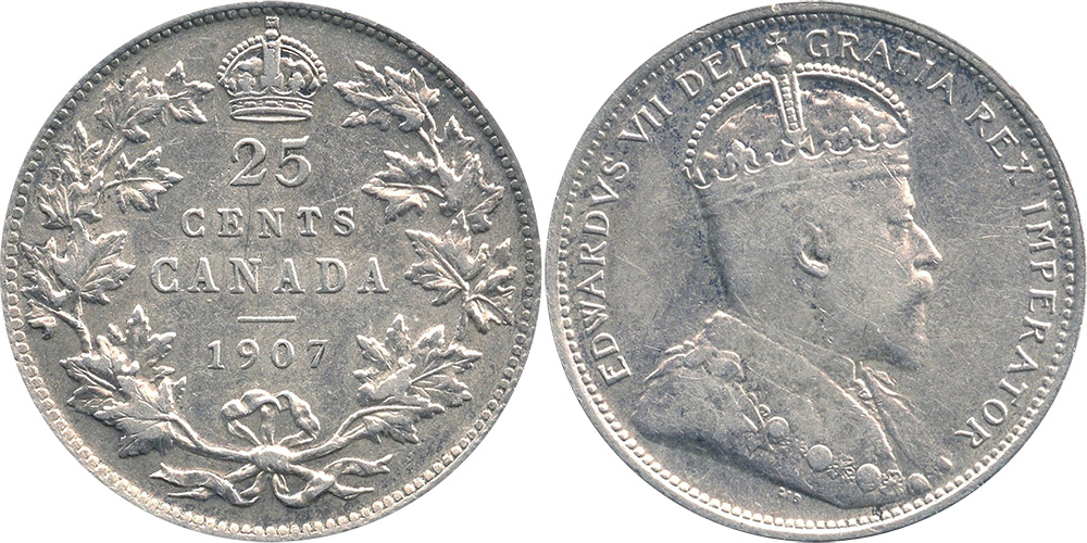25cents 1907