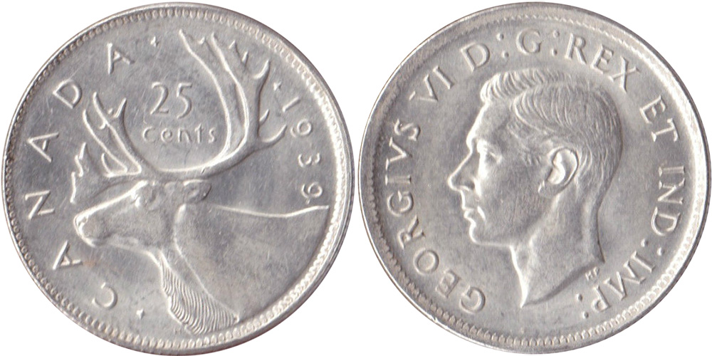 25 cents 1940