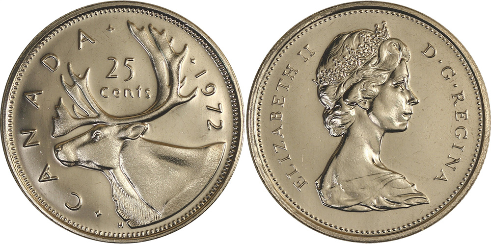 25 cents 1972