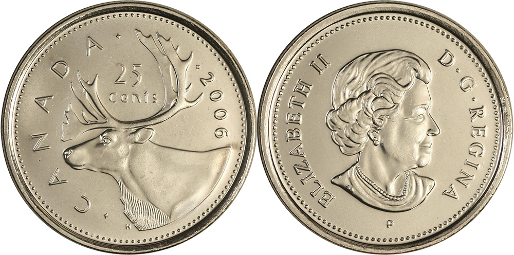 25 cents 2006
