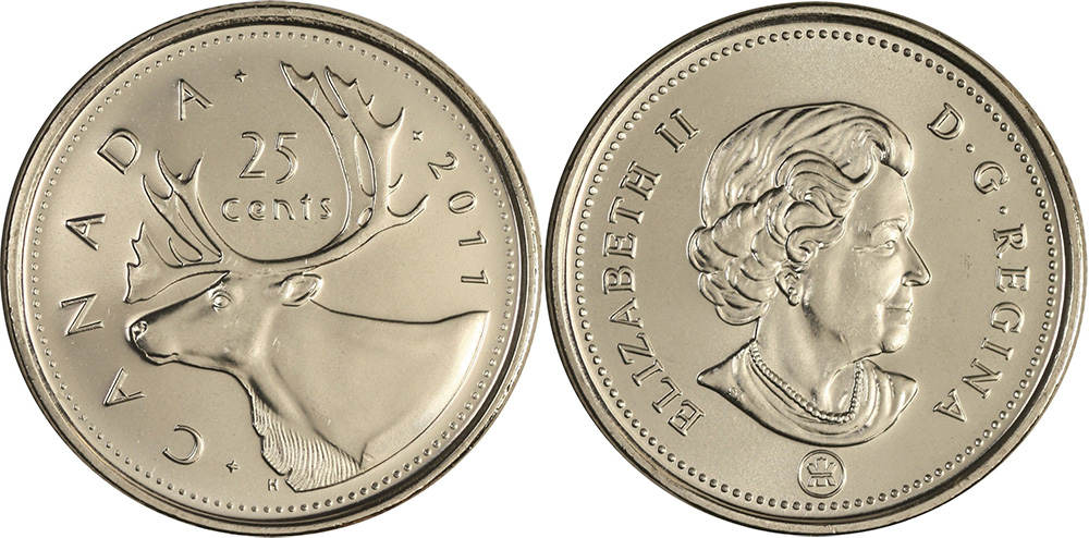 25 cents 2011