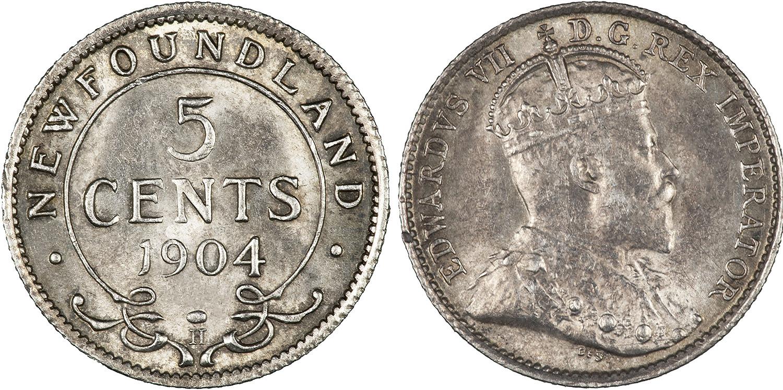 5 cents 1908 - Newfoundland