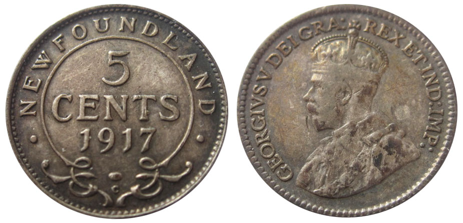 Coins and Canada - 5 c...