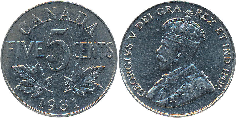 5 cents 1932