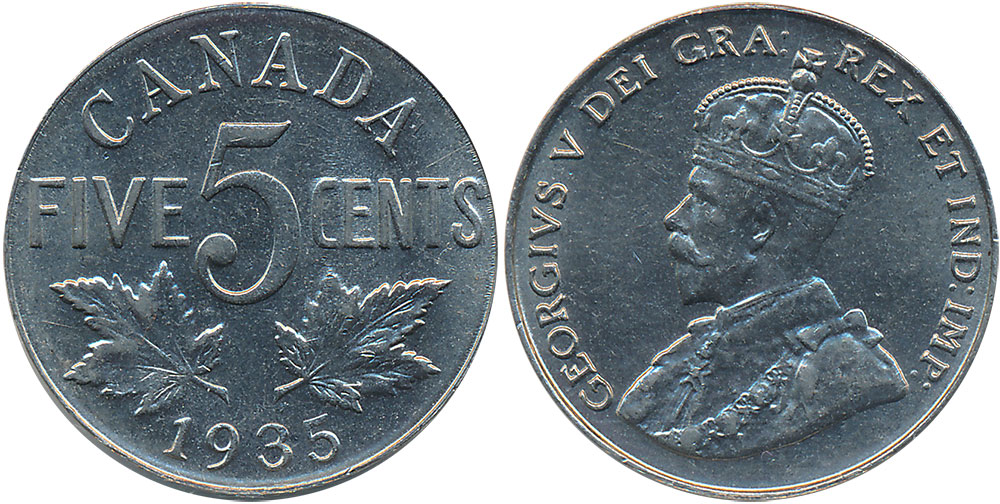1935 Canadian Silver Dollar Worth Best Photos About