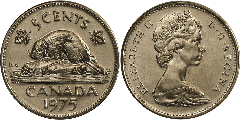 5 cents 1975
